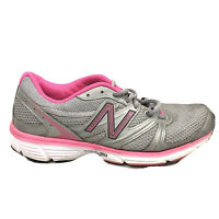 New Balance 590 Running Shoes Womens Size 8.5 8 1/2 Gray Pink Sneakers W590SP1