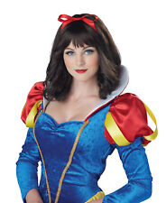 Snow White Princess Story Adult Costume Wig