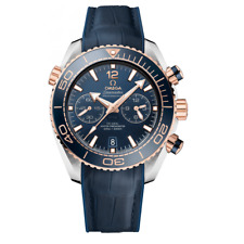Omega Planet Ocean Master CRONOMETRO CRONOGRAFO 45.5 mm-mai indossato con scatola e documenti
