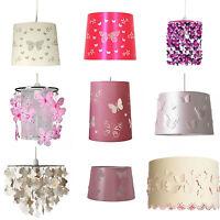 Kids Girls Butterfly Light Shade Lampshade  Pendant Nursary Girls Bedroom New