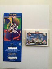 Disneyland rare Upper deck Card set with ticket 1995