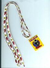 """Dick Tracy 1990 Movie New 16"""" Shoe Laces w/Tracy Hat & Name! W/Tag! Collectible!"""