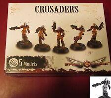 Space Crusade PIC301101 Crusaders (5) Miniatures Female Marines Space Infantry