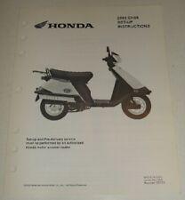 Honda Elite 80 CH80 Repair Motorcycle Manuals and Literature for sale | eBayeBay