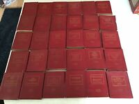 Set of 30 Antique Little Leather Library Books 🌼🌼HTF🌼🌼