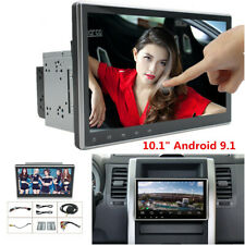 "2Din 10.1"" Android 9.1 Touch Screen Car Stereo Radio GPS Wifi BT Mirror Link OBD"