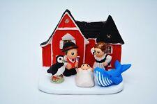 "Icelandic Nativity Scene - Handmade in Clay - 1 block - 3.1""X2""X3.1"", Iceland."