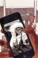 AMAZING SPIDER-MAN #1 ADAM HUGHES B VIRGIN VARIANT MARVEL COMICS 2018 BLACK CAT
