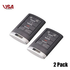 2 For Cadillac Escalade Remote Key Fob 2007 2008 2009 2010 2011 2012 2013 2014 (Fits: More than one vehicle)