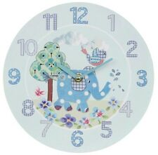 BNIB Bird and Ellie CLOCK CHRISTENING GIFT BABY BEDROOM BLUE