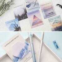 Creative Scenery Tour Series Mini Memo Notes School Suppli I9H3 Stationery G9K0