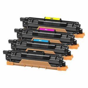 Compatible TN-243 CMYK Set Toner Cartridges TN243 CMYK NonOEM Lot