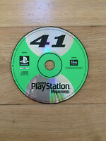 Official UK Playstation Magazine CD Number 41 for PS1 *Demo Disc Only*