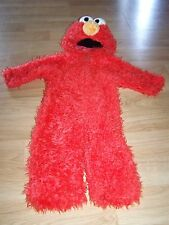 Infant Size 12-18 Months Sesame Street Elmo Plush Halloween Costume EUC