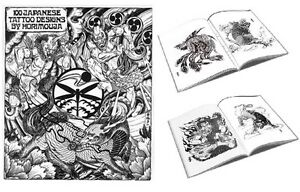100 Japanese Tattoo Designs Book by Horimouja - Drawing Reference Flash Book