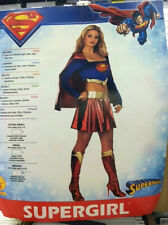 SUPERGIRL ADULT COSTUME SIZE MEDIUM (10-14) RUBIES SUPERMAN