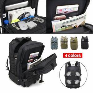 50L Camping Backpacks Hiking Bag Army Military Tactical Rucksacks Sport #T