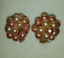 On Earrings Vintage Bead Clip