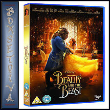 BEAUTY & THE BEAST - DISNEY - EMMA WATSON & DAN STEVENS  *BRAND NEW DVD**