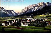 Gröbming Stiria AK 1913 PANORAMA ALPI AUSTRIA 1503742