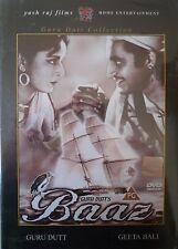 BAAZ - YRF - BOLLYWOOD DVD - Guru Dutt, Geeta Bali, K.N.Singh, Kuldip Kaur.