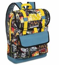 NWT DISNEY STORE Star Wars The Force Awakens Characters School Backpack Bag