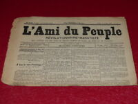 [PRESSE XIXe] MAXIME LISBONNE  L'AMI DU PEUPLE # 30-2e S. JEUDI 30 AVR 1885 Rare