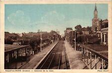 CPA  Ailly-sur-Noye (Somme) - Intérieur de la Gare    (515282)
