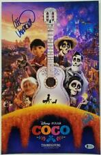 ANTHONY GONZALEZ + LEE UNKRICH Signed COCO 11x17 Movie Poster B~ Beckett BAS COA