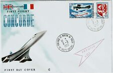 FDC-SPERSONIC CONCORDE-THE ANGLO-FRENCH-FIRST FLIGHT-3 MARS 1969