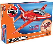 "Brand New Airfix Quick Build ""Fits The Box"" RAF Red Arrows Hawk Model Kit."