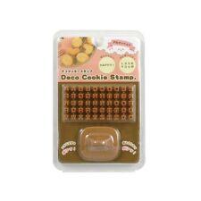 Alphabet  Deco Cookie And Fondant Stamp Set