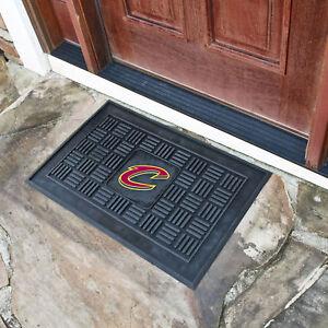 NBA - Cleveland Cavaliers Medallion Heavy Duty Durable Vinyl Doormat - 3-D logo