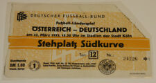 Ticket for collectors * Germany BRD - Austria 1953 Koln