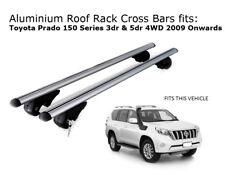 Roof Rack Cross Bars fits Toyota Landcruiser Prado 150 with roof rails 2009+