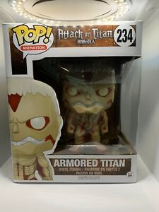 Funko Pop! Attack on Titan Armored Titan #234 Vaulted/ Rare