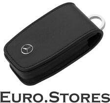 Key Case, Generation 6 Cowhide / Stainless Steel, Black - Original Mercedes-B