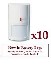 10 ) New DSC WS4904P WS-4904-P Wireless Motion Detector Sensor 60 lbs Pet Immune