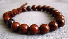 Buddha-Armband aus Mahagoni-Obsidian ca. 18 cm - Power-Beads.