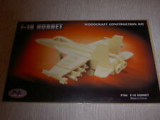 IDEAL REVENDEUR LOT 55 PUZZLES EN 3D avion f-18 hornet