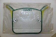 NOS HARO TECH PLATE ORIGINAL 80's BMX NUMBER PLATE GREEN/YELLOW
