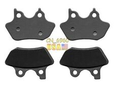 Front + Rear Brake Pads FOR HARLEY FXST FXSTi Softail 00 01 02 03 04 05
