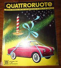 Quattroruote Dicembre 1956 N. 11 originale