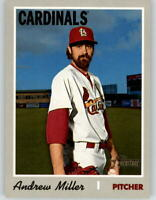 (10) 2019 Topps Heritage High Number ANDREW MILLER 10-Card Lot Cardinals #521