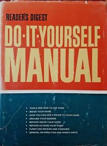 Readers Digest Do It Yourself Manual - Hardcover