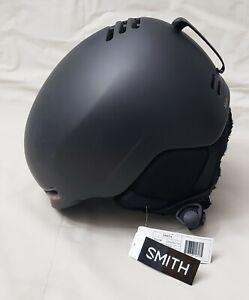 Smith Optics Allure Snowboard Ski Helmet Matte Black Pearl Women Sz Small NEW
