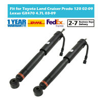 2Pcs Rear Air Shock Absorber Fit Toyota Land Cruiser Prado 120 Lexus GX470 4.7L