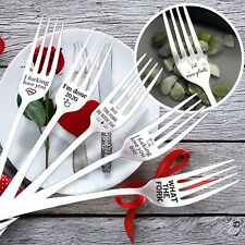 Engraved Fork Best Present for Husband Madam Family and Friends Tableware Gift