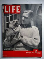Life Magazine August 30 1943 WW2 Anthony Eden Precision Bombing Quebec Troina