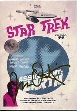 Star Trek Portfolio Prints Gold Parallel Base Card  56 Assignment: Earth
